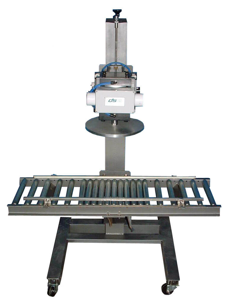 Semi-Automatic Lid Press